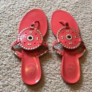 Jack Rogers Georgica Jelly Sandals 9